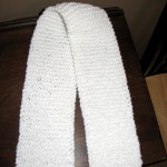 Second knitted scarf